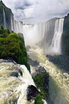 Iguazu Falls, Argentina-Brasil by Liz Cc'