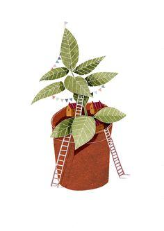 Plant Home Giclee Print. £20.00, via Etsy.