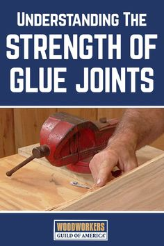 How strong are the glue joints compared to the wood it's holding together? Woodworking expert George Vondriska will explain in this video clip. A WoodWorkers Guild of America (WWGOA) original video.
