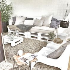 Enjoying the sun! #mygarden#lounge#outside#sun#white