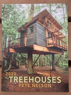 ⚡️BREAKING NEWS⚡️The 2020 Treehouse Calendar has arrived! We sold out SO quickly last year so get your order in today! Beautiful Tree Houses, Cool Tree Houses, Treehouse Cabins, Treehouse Ideas, Treehouses, Adult Tree House, Modern Staircase, Spiral Staircases, Staircase Design