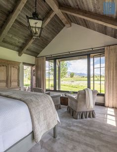 50 Breathtaking Rustic Ranch House Tucked Into the Beartooth Mountains – rustic home interior House Design, House, Rustic Home Design, Rustic Home Interiors, Ranch House, House Plans, House Interior, Rustic Bedroom, Rustic House