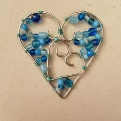Hearts by Inner Peace in Wire Designs - Katie Burgener  Innerpeaceinwiredesigns@gmail.com