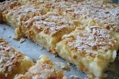Desert prajitura cremes ca la Cluj Sweets Recipes, Just Desserts, Delicious Desserts, Cake Recipes, Cooking Recipes, Romanian Desserts, Romanian Food, My Favorite Food, Favorite Recipes