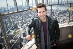 April 17, 2013 - Manhattan, New York, U.S. - JAMES MASLOW from American boy band, Big Time Rush, visits the Empire State Building's 86th Floor Observatory, Wednesday, April 17, 2013. (Credit Image:  Bryan Smith/ZUMAPRESS.com)