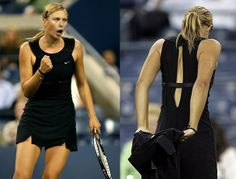 Hepburn Style Sharapova made heads turn at 2006 US OPEN !