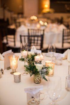 Keep it simple... View the full wedding here: http://thedailywedding.com/2016/02/05/chic-inn-wedding-kathlyn-stephen/