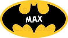 DIY Printable Batman Superhero Personalized T shirt Heat Transfer