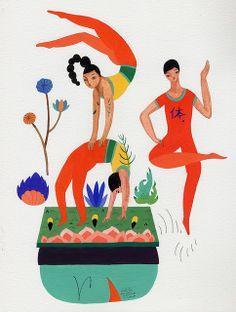 Gymnastics by Inca Pan