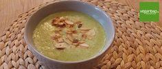 Rezept für ... Brokkolisuppe mit Mandeln