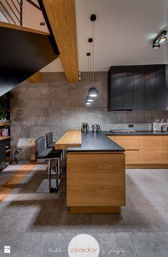 Meble do nowoczesnego domu - Duża otwarta kuchnia w kształcie litery l w aneksie, styl nowoczesny - zdjęcie od Zirador - Meble tworzone z pasją