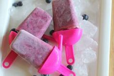 Home made ice-pops, Dairy Free