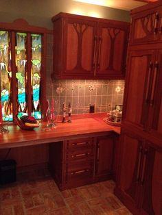 Handmade craftsman kitchen by Cypress Gables studios