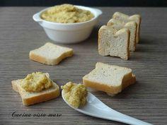 Crostini+alla+crema+di+carciofi