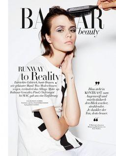 Marta Dyks | Harper's Bazaar Germany September 2014 (Photography: Roman Goebel)
