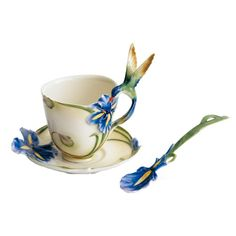 幸せのメッセンジャー ハチドリ   法藍瓷 Franz フランツ
