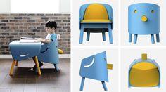 A coreana Titot aposta na visão lúdica e funcional dos móveis para as crianças