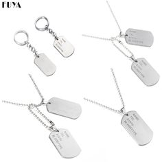 Military Army Tactical Engraving Name ID Tags Cards Pendant Man Necklace&Pendants Stainless Steel Fashion Keychain Men Jewelry    / //  Price: $US $0.99 & FREE Shipping // /    Buy Now >>>https://www.mrtodaydeal.com/products/military-army-tactical-engraving-name-id-tags-cards-pendant-man-necklacependants-stainless-steel-fashion-keychain-men-jewelry/    #OnlineShopping