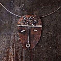 Biżuteria z miedzi i srebra - cobalt blue ewa lompe biżuteria autorska .
