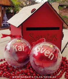 Cute lil order for Santa's good boys 🤶🎄💕 #NamasteBaubles #NamasteHibbert #NamasteProducts #NamasteVinyl www.namaste.co.za/vinyl Namaste, Christmas Bulbs, Santa, Holiday Decor, Boys, Cute, Shop, Home Decor, Products