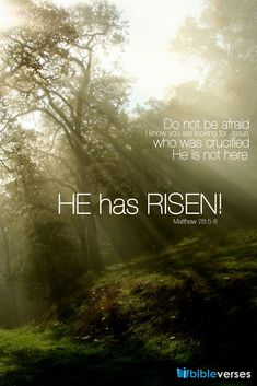 Image detail for -Has Risen | Bible Verses, Bible Verses About Love, Inspirational Bible ...