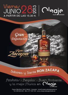 Gran Degustación de Ron Zacapa, viernes 28.