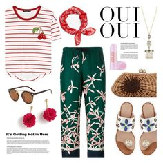 """""""Untitled #876"""" by watereverysunday ❤ liked on Polyvore featuring Dolce&Gabbana, Moncler, rag & bone, Kayu, Chanel, J.Crew, Soap & Glory and Oui"""