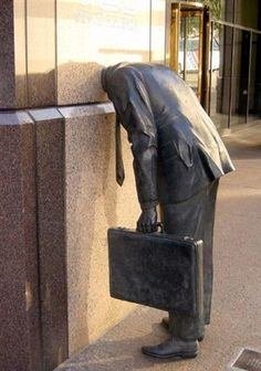 Funny sculpture