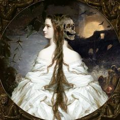 Lady Of Dreams Throws pillows candles baskets are great items for winter decor. Dark Fantasy Art, Dark Art, Rennaissance Art, Photography Movies, Classical Art, Exhibition Poster, Gothic Art, Animal Tattoos, Funny Art