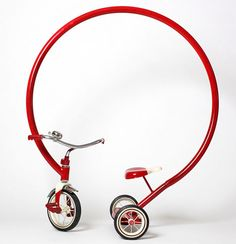 Sergio Garcia's mad tricycle