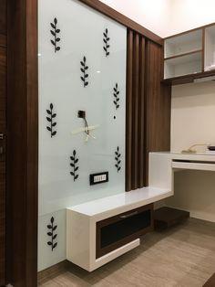 Tv Unit Furniture Design, Tv Unit Design, Tv Wall Design, Bed Furniture, Wall Units, Tv Units, Exterior Design, Interior And Exterior, Modern Tv Wall