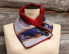 Harris Tweed Reversible Pheasant Neck Wrap