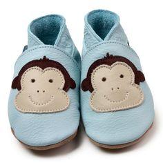 Cheeky Monkey Baby Blue / /// /   Warren loves all things monkey!