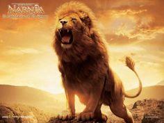 Aslam, o grande leão de Nárnia.