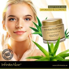 We call it nature's solution to healthier and better-looking skin. So, if you've never used Infinite Aloe before, then start using it now to enjoy a delightfully hydrated & glowing skin! Shop Online: www. Glowing Skin, Aloe Vera, Anti Aging, Skin Care, Uae, Infinite, Shop, Infinity Symbol, Skincare Routine