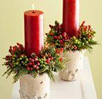 Jak zrobić stroik bożonarodzeniowy z doniczki?
