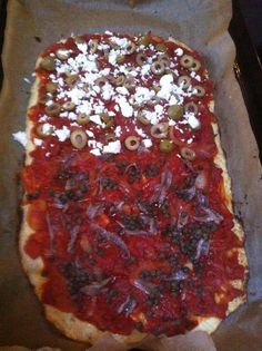 www.waargenoegen.nl Paleo Food, Paleo Recipes, Pepperoni, Vegetable Pizza, Vegetables, Vegetable Recipes, Paleo Meals, Vegetarian Pizza, Veggies
