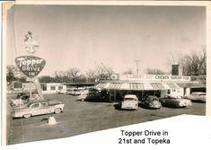 Historical Pictures, City Streets, Kansas, Restaurants, Childhood, History, Board, Vintage, Infancy