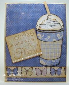 Coffee on the Go! - Two Paper Divas