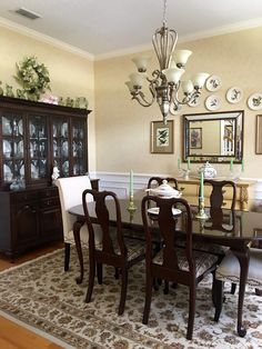 Dining room - by mmw dining room paint, dining room sets, dining ro Dining Room Fireplace, Dining Room Paint, Dining Room Wall Decor, Dining Room Sets, Dining Room Design, Home Decor Bedroom, Dining Table, Room Decor, French Country Dining