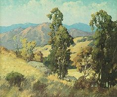 "Maurice Braun's ""Eucalyptus Trees""  #landscape #MauriceBraun #CaliforniaImpressionist"