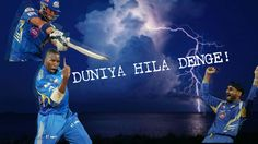 Warning! Woh duniya hila denge! You don't want to miss the #MumbaiIndians this time. Don't say we didn't warn you! HURRY!