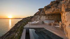 Marzua: El hotel Cap Rocat en Mallorca, una fortaleza únic...