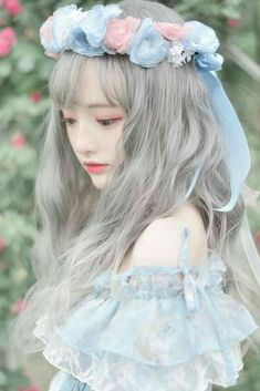 You # have # dreams # and # dreams # are big # storms? # # You # no # self Music # # # - wigs & toupee Ulzzang Korean Girl, Cute Korean Girl, Asian Girl, Style Lolita, Mode Lolita, Kawaii Fashion, Lolita Fashion, Cute Fashion, Woman Fashion