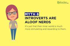 내성적인 사람에 대한 10가지 오해 Create List, Avoid People, Inner World, Describe Me, The More You Know, Life Inspiration, Introvert, Infp, Trending Memes