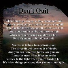 Don't Quit-unkown