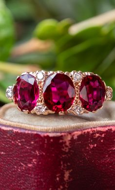 Wire Wrapped Briolette Natural Ruby Earrings  Solid 14K Gold July Birthstone 40th Anniversary Wire Wrapped Wedding Bridal
