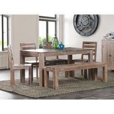 Hamshire Reclaimed Wood 60-inch Dining Table by Kosas Home