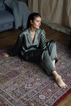 The Emergence of Silk Lingerie Pajamas For Teens, Cute Pajamas, Pajamas Women, Comfy Pajamas, Satin Pyjama Set, Satin Pajamas, Pajama Set, Womens Pyjama Sets, Trendy Swimwear