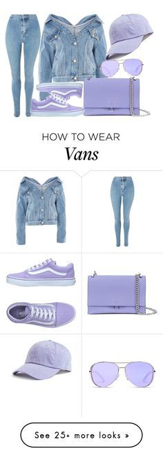 """Untitled #2718"" by iamclaudine on Polyvore featuring Topshop, Jil Sander, Vans, American Needle and Michael Kors"